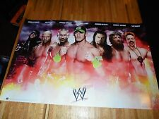 WWE Superstars Poster 24 X 36 Out of Print Out of Print Undertaker John Cena