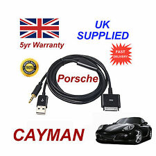 PORSCHE CAYMAN CDR-31 Audio System iPhone iPod Cable replacement black