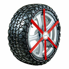 NEW Michelin 2x Easy Grip Snow Chains G13 to fit 165/70/14 185/60/14 Tyres