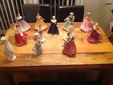 Royal doulton figurine collection  bundle x 12  job lot brand new
