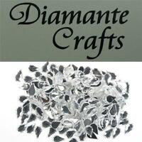 200 x 6mm Clear Teardrops Diamante Loose Flat Back Rhinestone Vajazzle Body Gems