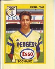 n° 258 VIGNETTE PANINI CHAMPIONNAT DE FRANCE 1992 LIONEL PRAT SOCHAUX
