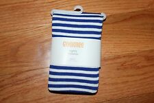 NWT Gymboree Stripes and Anchor Size 5-6 Blue Striped Tights
