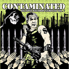 Contaminated 7: Hot Topic Sampler by Various Artists (CD, Jan-2006, Relapse...