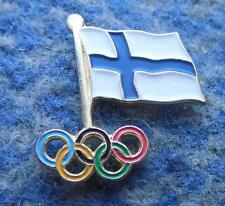 NOC FINLAND OLYMPIC PIN BADGE