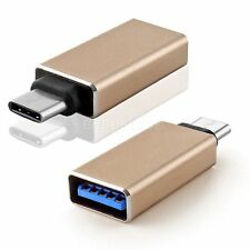 Type C Male USB-C 3.1 to USB 3.0 Female Data Converter Adapter For MacBook 12""
