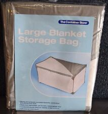 The Container Store Large Blanket Storage Bag  35½ x 20¾ x 18