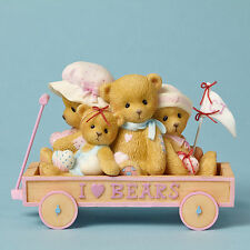 Cherished Teddies~I LOVE BEARS WAGON~SALE~FREE SHIP