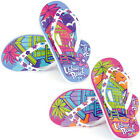 GIRLS URBAN BEACH FLIP FLOPS SANDALS SIZE 10 - 2 KIDS POOL BEACH HUT FW648