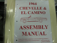 1964 CHEVELLE, EL CAMINO (ALL MODELS) ASSEMBLY MANUAL