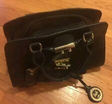 Versace 19v69 Sportivo Marlow Medium Satchel Handbags - Black (Broken Latch)