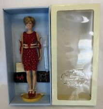 "Franklin Mint PRINCESS DIANA 16"" Vinyl Doll 1998 CHRISTMAS EDITION LE 5000"
