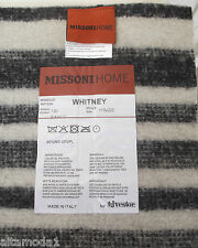 MISSONI TAPPETO MISTO LANA WHITNEY T20 110x220cm  80% WOOL  CARPET RUNNER
