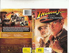 Indiana Jones And The Last Crusade-1989-Harrison Ford-Movie-DVD