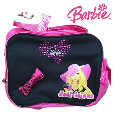 MATTEL Official Licensed Barbie Glamour Bow Girls Full Insulated Lunch Box Bag