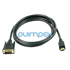 J15 3m conector HDMI zu cable DVI Adaptador Alta velocidad Full HD TV LCD