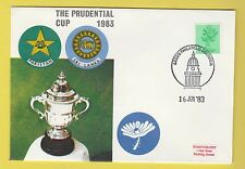 CRICKET - STAMP COVER - PRUDENTIAL CUP -  PAKISTAN  V  SRI  LANKA  -  1983