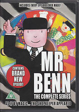 Mr Benn - Complete Series + new episode - Every Episode ever made R2 DVD