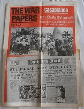 THE WAR PAPERS PART 27 DAILY TELEGRAPH JANUARY 27TH 1943