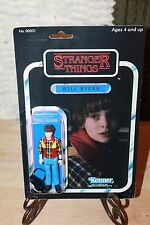 Stranger Things Custom Carded Action Figure Will Byers Netflix 80s vintage