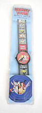 Armitron Looney Tunes Flim Strip Wrist Watch Bugs Bunny 1989