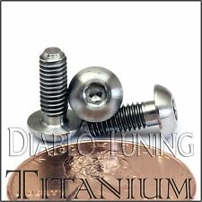 TITANIUM M3 x 8mm - DIN 9427 BUTTON HEAD Socket Cap Screw - BHCS - Ti Hex Allen