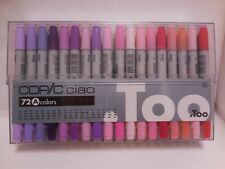 Too COPIC CIAO Set A 72 color Premium Artists Marker Manga made in Japan