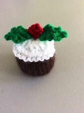 Christmas pudding chocolate cover Ferrero rocher  knitting pattern only