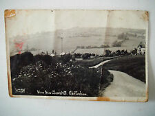 View From Cleeve Hill Cheltenham Old Postcard