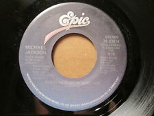 MICHAEL JACKSON - Wanna Be Startin' Something   EPIC 45rpm   CANADA Pressing