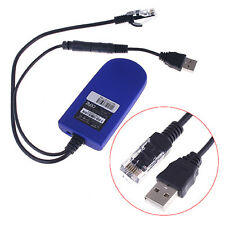 NEW Durable Adapter Bridge Cable RJ45 Ethernet Port to Wireless WiFi Dongle USB