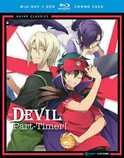 The Devil is a Part Timer: The Complete Series (Blu-ray + DVD ,4 Discs , 2016)