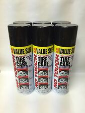 Set of 12 No Touch Tire Care Cleaner Shine Protectant 18 oz. Spray Can FREE SHIP