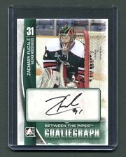 2014 In the Game GoalieGraph A-ZF Zachary Fucale Mooseheads Autographed jh5