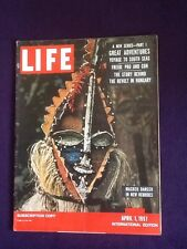 LIFE magazine Apr 1st 1957 KIM NOVAK Christian Dior GEORGES MATHIEU New Hebrides