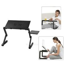 Portable Folding Laptop Desk Table Adjustable Bed Tray Stand For PC Notebook