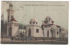 CARTE POSTALE  MARSEILLE EXPOSITION COLONIALE 1906 PALAIS DE L ALGERIE