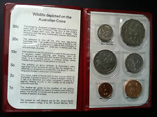 1981 Royal Australian Mint Uncirculated  RAM 6 Coin Mint Set