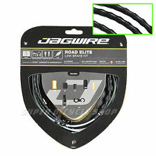 Jagwire Road Elite Link Teflon Coated Brake Cable Kit , Black