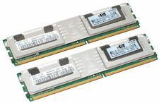 4GB 2X2GB 2RX4 PC2-5300F DDR2-667MHz RAM MEMORY FULLY BUFFERED DIMM FB-DIMM