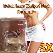 3 x BOXS SLIMMING INSTANT COFFEE 1+3  DIET LOSE WEIGHT NATURALLY