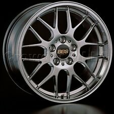 BBS 17 x 7 RGR Car Wheel Rim 4 x 100 Part # RG712HDBK