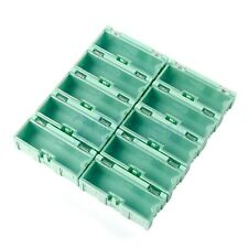 Green 10PCS SMD SMT Electronic Case Box Kits Components Storage Container CG