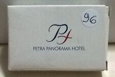 SAPONETTA PETRA PANORAMA HOTEL- AMMAN - RETTANGOLARE CONFEZIONATA IN SCATOLA  96