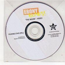 (EG763) Ebony Bones, The Muzik - DJ DVD