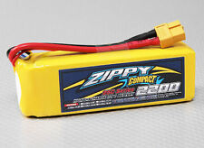 New Zippy Compact 2200mAh 4S 14.8V 25C 35C Lipo Battery Pack RC XT60 XT-60 USA