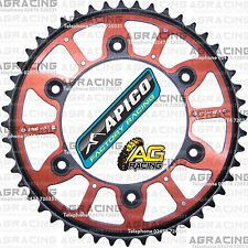 Apico Xtreme Red Black Rear Alloy Steel Sprocket 48T For Honda CR 250 1996 MotoX