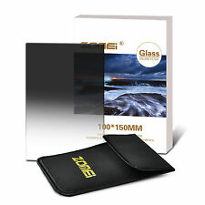 ZOMEI 150mm*100mm ND8(0.9)Glass Soft Graduated Grey Square Filter For Cokin Z