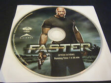 Faster (DVD, 2011) - Disc Only!!!