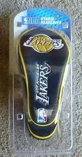 NBA Los Angeles Lakers Hybrid Utility Fairway Golf Headcover Stretch Fit
